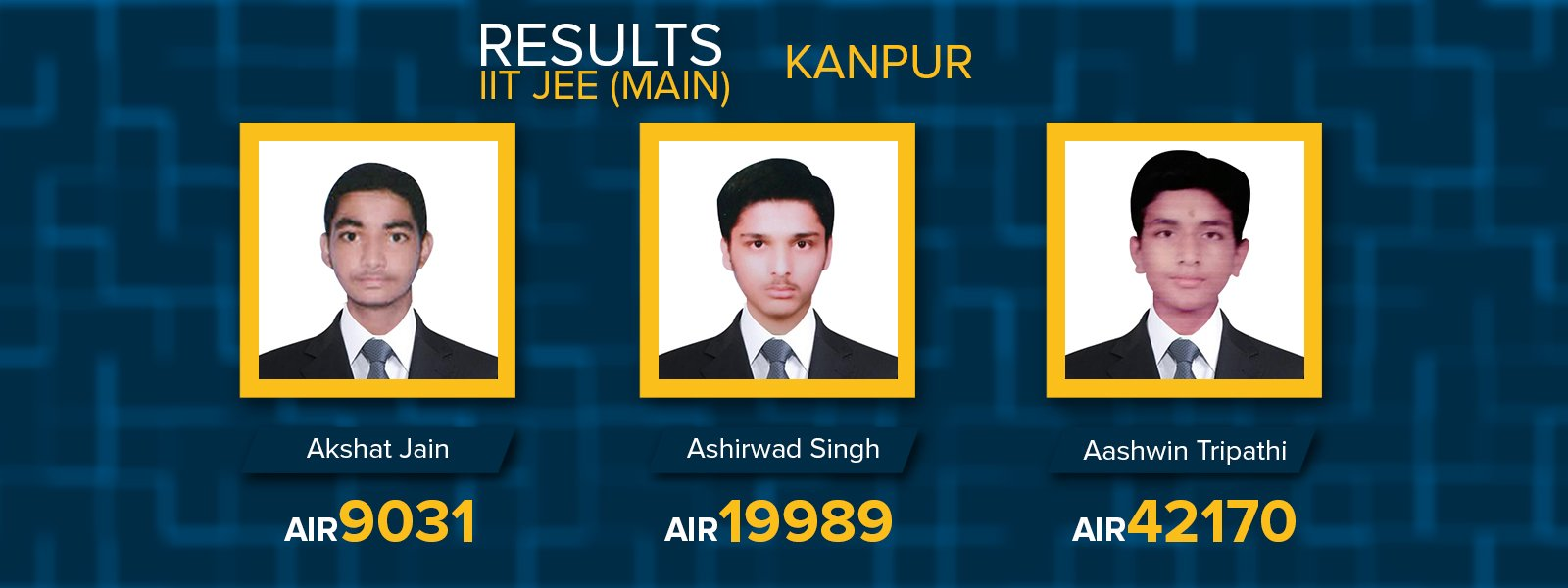 Kanpur IIT JEE MAIN 2017 results