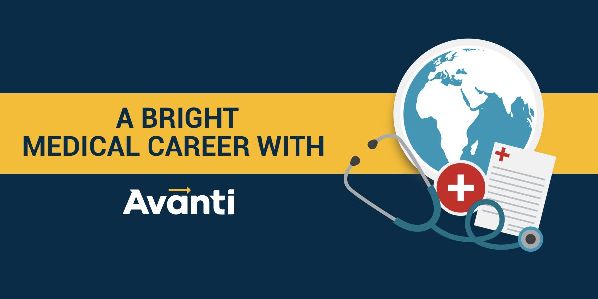 A bright medical career with Avanti