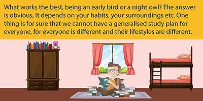 Day Study vs Night Study