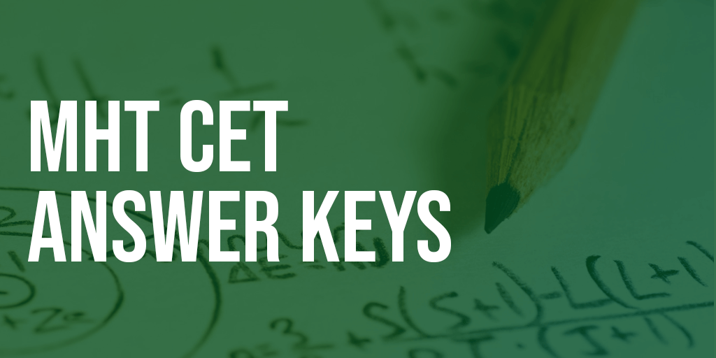 MHT CET Answer keys