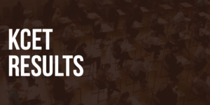 KCET Results Previous Year
