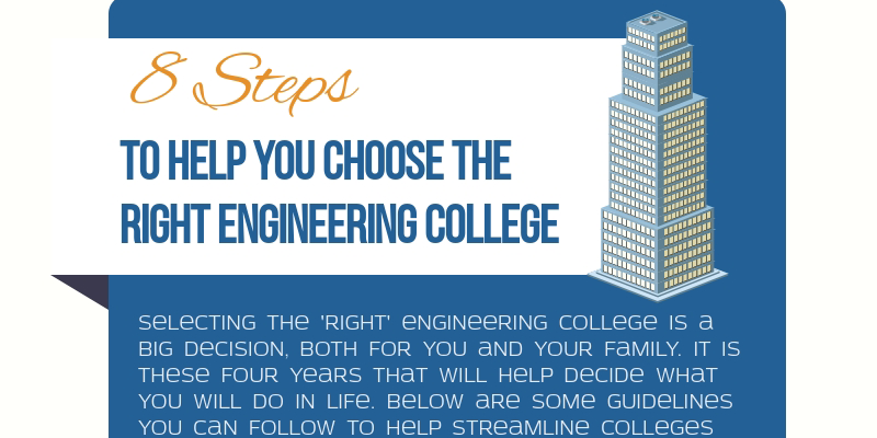 8 Steps to Help You Choose the Right Engineering College