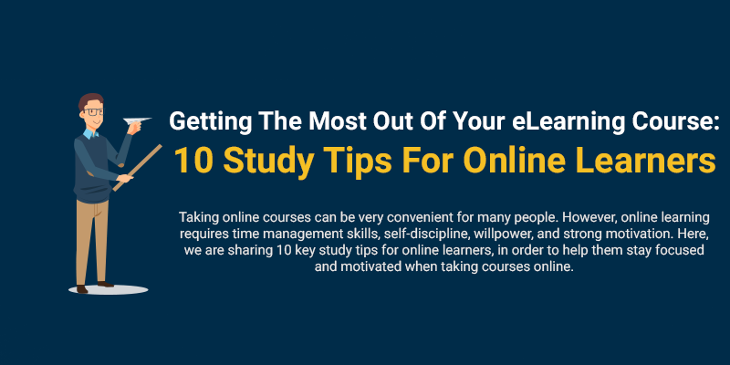 10 Study Tips For Online Learners