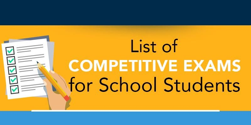 competitive exams for school students