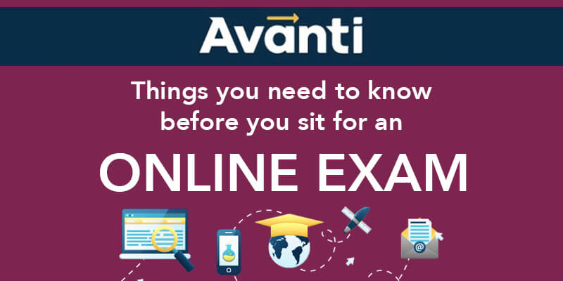 things to know before an online exam, online exam