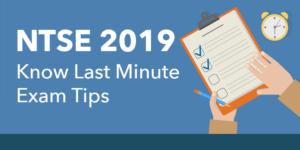 NTSE 2019, NTSE, NTSE 2019 exam