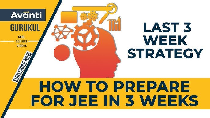 How to prepare for JEE in 3 weeks   3 week JEE Planner